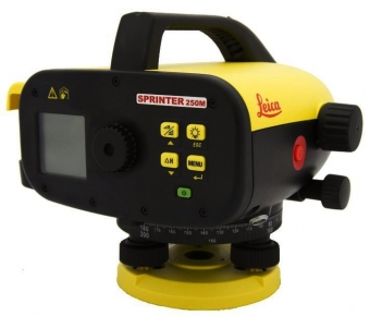 Leica Sprinter 250M digitaal waterpasinstrument